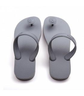 Gurus grå bæredygtige sandaler