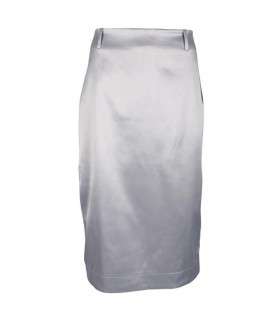 Uldahl grå medi nederdel