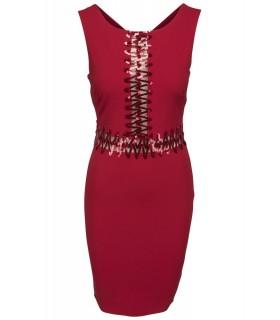 Goddess zig-zag kjole