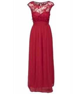 Goddess rød maxi kjole