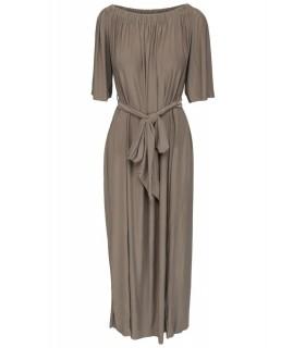 Goddess brun boheme kjole