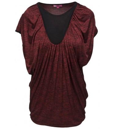 Goddess oversize t-shirt rød
