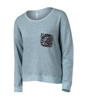 Xhilaration sweatshirt med pailletter