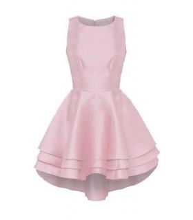 Goddess lyserød skater kjole
