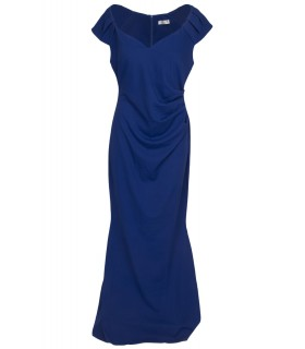 Goddess royalblue lang kjole