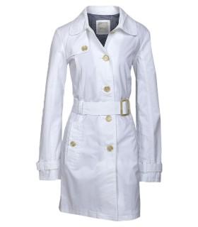 Hvid Esprit trenchcoat