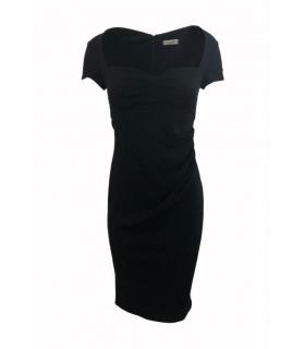 Goddess Stephanie Pratt sort midi kjole