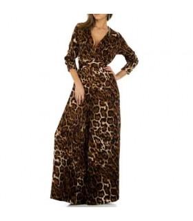 Paris Fashion JCL leopard buksedragt