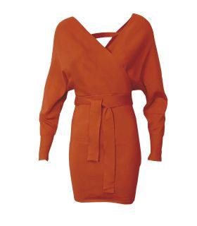 Paris Fashion Koolook orange minikjole