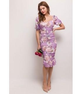 Paris Fashion Bellavie lilla kjole