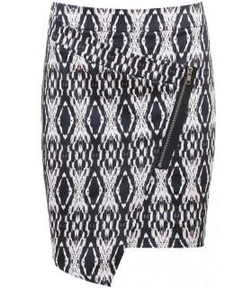 Babez asymmetrisk nederdel