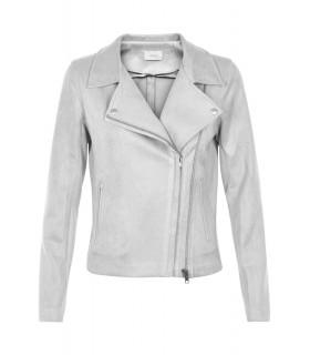 Neo Noir Perth suede grå ruskindslook jakke