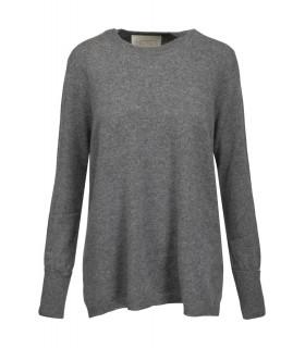 Notes du Nord Dia kashmir o-neck grå sweater