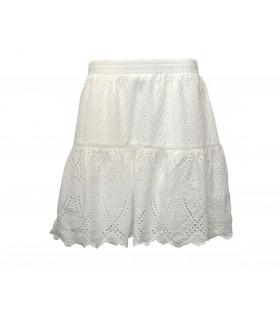 Gestuz Tanna hvid nederdel