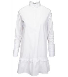 Norr Agnes Ls Dress hvid kjole