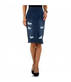 Paris Fashion Laulia Denim cowboynederdel
