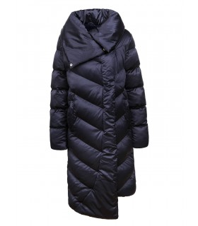 Glo-Story navyblå dawn lang jakke