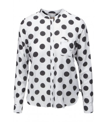 Kools - Hvid silkeskjorte