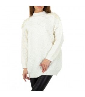Shako White Icy hvid sweater