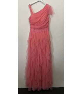 Soky Soka boheme kjole med et ærme koral