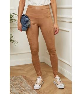 Paris Fashion Mode en Direct brune leggings