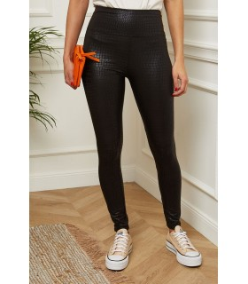 Paris Fashion Mode en Direct sorte leggings