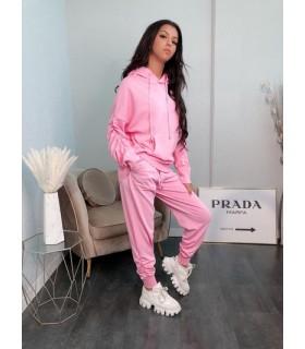 Emma Ashley striksæt med rynk lyserød