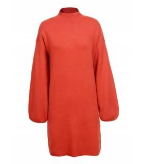 Glo-Story orange minikjole