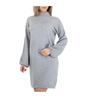 Glo-Storygrå minikjole